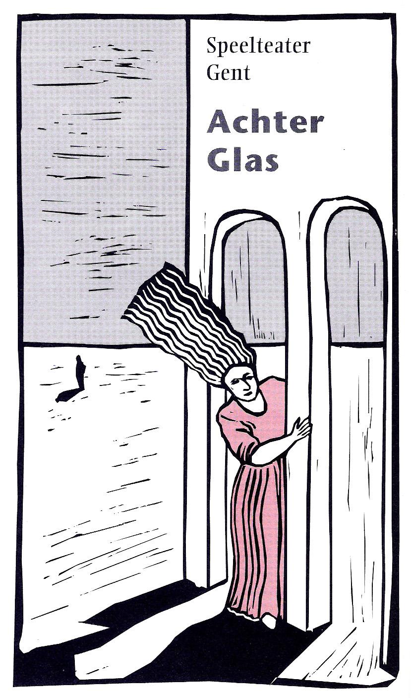 Achter Glas flyer