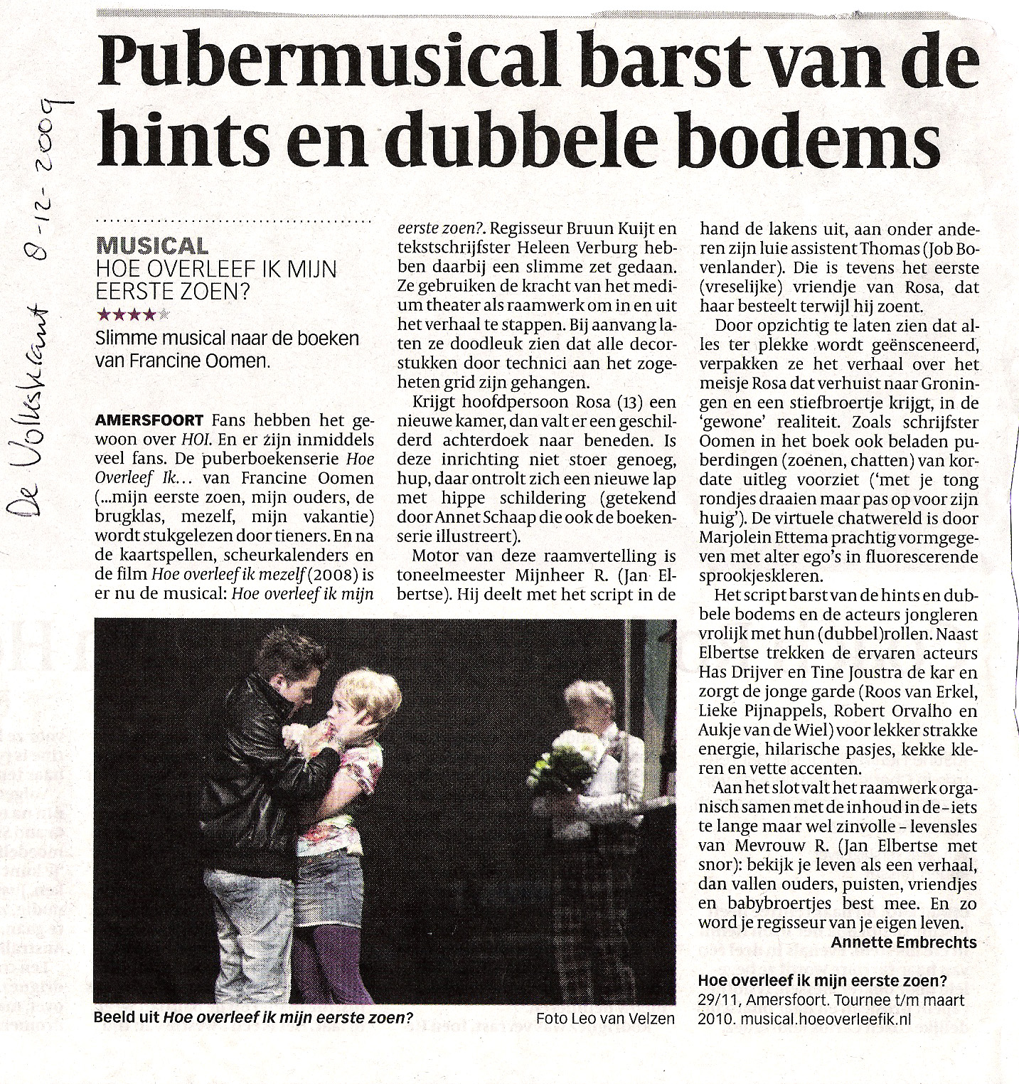 Volkskrant 8 december 2010