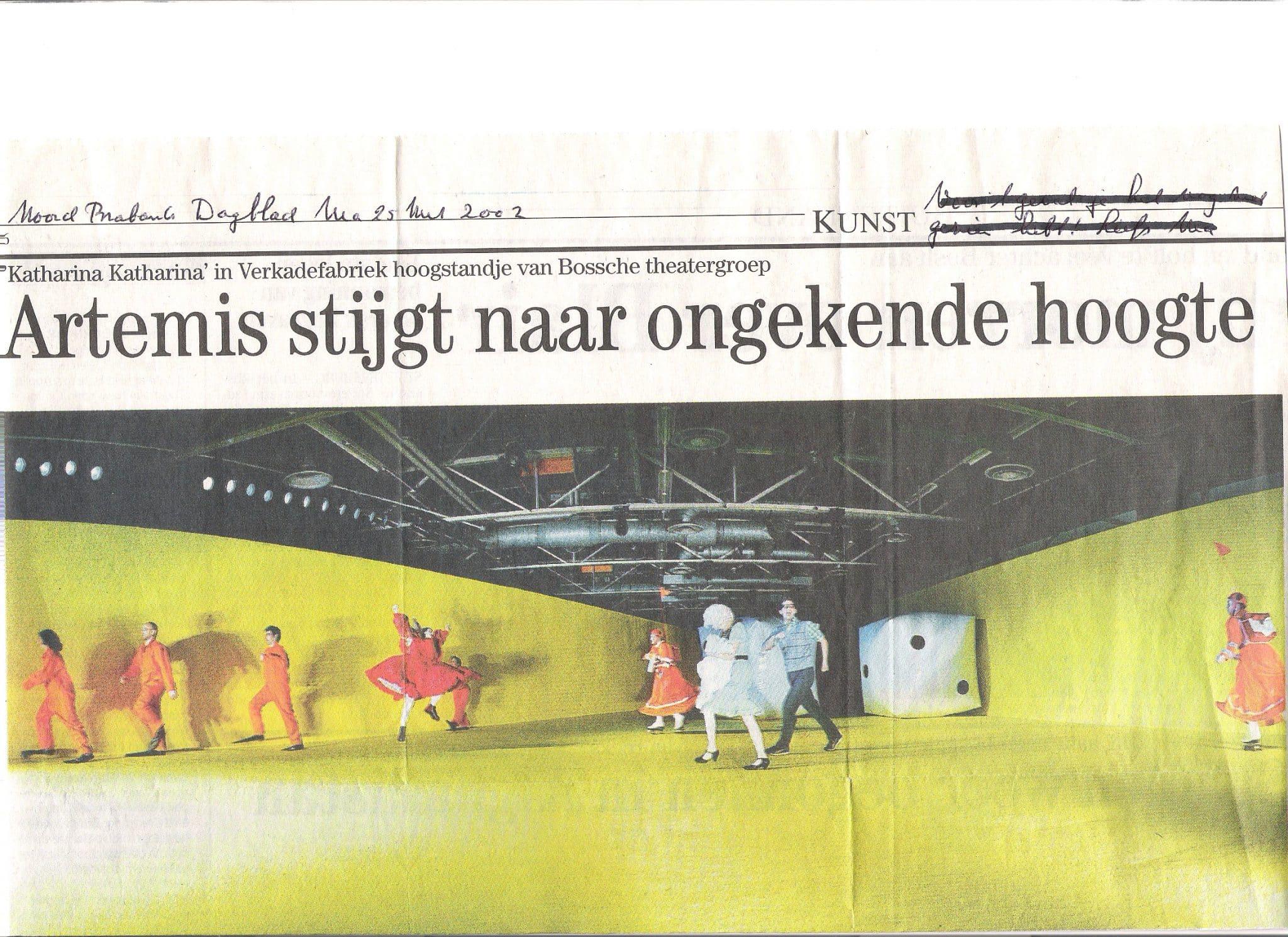 KK Noord Brabants Dagblad 25 maart 2002